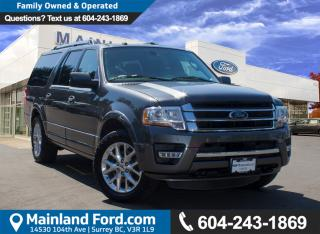 Used 2017 Ford Expedition Max Limited NO ACCIDENTS for sale in Surrey, BC