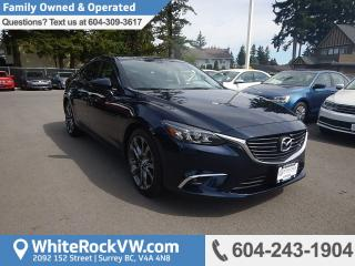 Used 2016 Mazda MAZDA6 GT NAVIGATION, POWER MOONROOF, RADIO DATA SYSTEM & RAIN SENSING WIPERS for sale in Surrey, BC