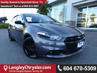 Used 2015 Dodge Dart SXT *LOCAL BC CAR* LOW KMS*DEALER INSPECTED* for sale in Surrey, BC