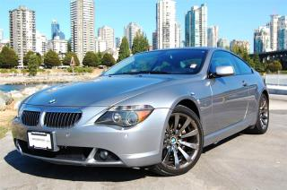 Used 2006 BMW 650i Coupe for sale in Surrey, BC