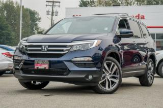 Used 2016 Honda Pilot Touring - Factory Warranty until 2022 for sale in Port Moody, BC