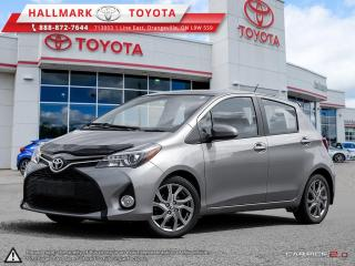 Used 2015 Toyota Yaris 5 Dr SE Htbk 4A for sale in Mono, ON
