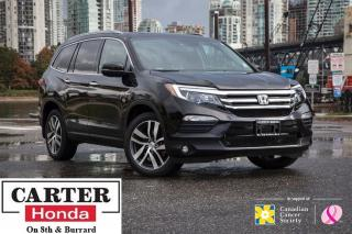 Used 2016 Honda Pilot Touring + NAVI + BLUERAY + LOW KMS + CERTIFIED! for sale in Vancouver, BC