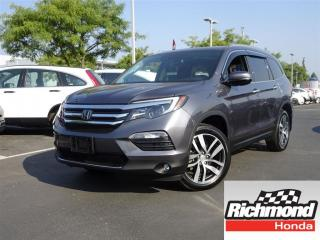 Used 2016 Honda Pilot Touring! Honda Certified Extended Warranty to 120 for sale in Richmond, BC