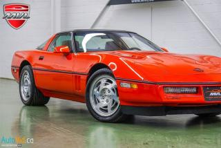 Used 1990 Chevrolet Corvette ZR1 SALE PENDING for sale in Oakville, ON