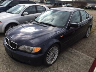 Used 2003 BMW 3 Series 330i for sale in Alliston, ON
