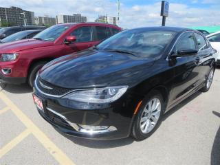 Used 2016 Chrysler 200 C - Leather, Remote Start, Bluetooth for sale in London, ON