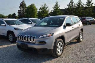 Used 2017 Jeep Cherokee Sport - V6, 4x4, Back Up Cam for sale in London, ON