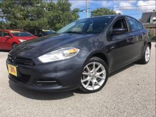 Used 2013 Dodge Dart SXT | ALLOYS | 1.4L | for sale in St Catharines, ON
