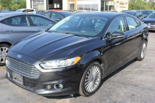 Used 2013 Ford Fusion Titanium AWD for sale in Brampton, ON