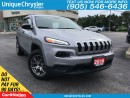 Used 2016 Jeep Cherokee Sport   BACK UP CAM   HEATED STEERING   for sale in Burlington, ON