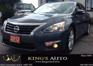 Used 2013 Nissan Altima SL, NAVI, BACK-UP CAM, SUNROOF, LEATHER for sale in Scarborough, ON