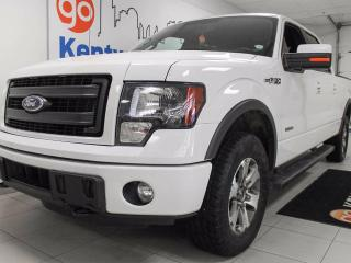Used 2014 Ford F-150 FX4 3.5L V6 ecoboost with keyless entry and a whole lotta guts! It will be your forever truck for sale in Edmonton, AB