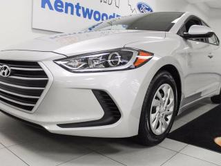 Used 2017 Hyundai Elantra LE- Ready for your personalization!!! And 27KM! for sale in Edmonton, AB
