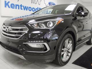 Used 2017 Hyundai Santa Fe Sport Sport 2.0T AWD, back up cam, sunroof, heated seats, push start/stop. It's practically new for sale in Edmonton, AB