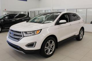 Used 2017 Ford Edge 3 MONTHS DEFERRAL!!!....*oac Titanium | AWD | Leather | heated Steering Wheel | Sunroof | Nav for sale in Edmonton, AB