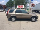 Used 2004 Honda CR-V EXL-AUTO,SAFETY+3YEARS WARRANTY INCLUDED for sale in North York, ON