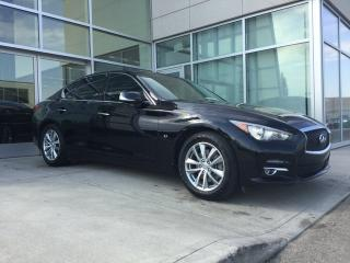 Used 2014 Infiniti Q50 AWD/HEATED FRONT SPORT SEATS/NAVIGATION/BACK UP MONITOR/LEATHER INTERIOR for sale in Edmonton, AB