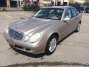 Used 2003 Mercedes-Benz E320 3.2L for sale in Mississauga, ON