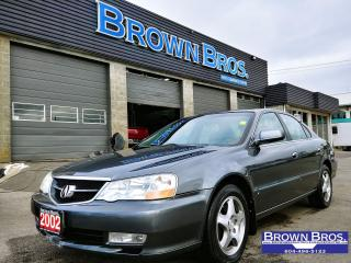 Used 2002 Acura TL 3.2TL, LEATHER, HTD SEATS, MOONROOF for sale in Surrey, BC
