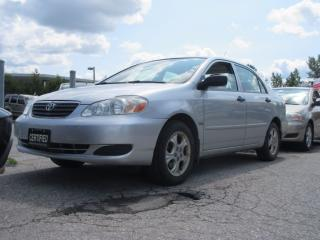 Used 2007 Toyota Corolla SE / LOCAL CAR / ACCIDENT FREE for sale in Newmarket, ON