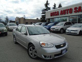 Used 2007 Chevrolet Malibu 4dr Sdn LTZ  LEATHER SEATS V6  NO ACCIDENTS for sale in Oakville, ON