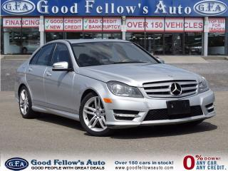 Used 2013 Mercedes-Benz C-Class C300 | 4MATIC, SUNROOF, NAVI CAMERA GRAND EDN PKG for sale in North York, ON
