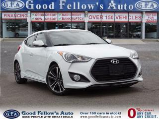 Used 2016 Hyundai Veloster TURBO, LEATHER, PANROOF, NAVI, CAMERA for sale in North York, ON