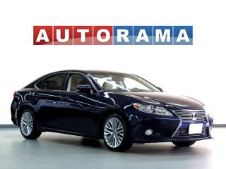 Used 2013 Lexus ES 350 ULTRA PREMIUM NAVi BACKUP CAM LEATHER PAN SUNROOF for sale in North York, ON