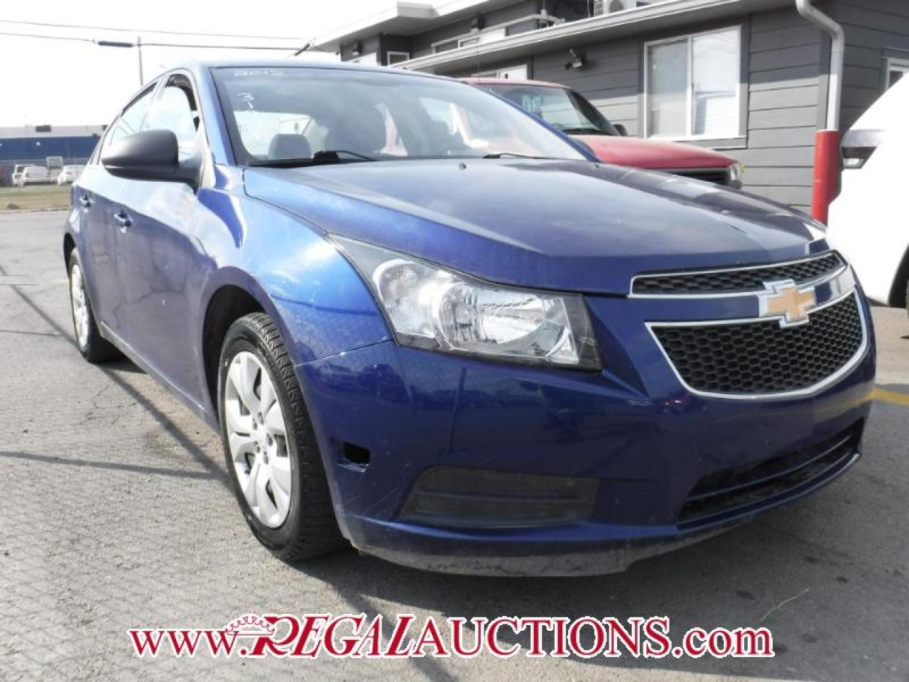 Photo of Blue 2012 Chevrolet CRUZE LS 4D SEDAN