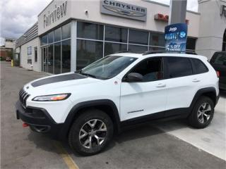 Used 2015 Jeep Cherokee Trailhawk..Fully Loaded for sale in Burlington, ON
