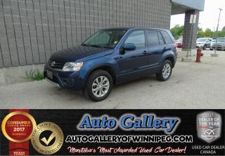 Used 2013 Suzuki Grand Vitara Urban   AWD *Nav for sale in Winnipeg, MB