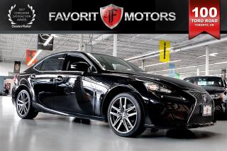 Used 2015 Lexus IS 250 F SPORT AWD | MARK LEVINSON PKG | RED LTHR | NAVI for sale in North York, ON