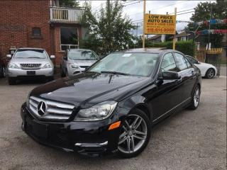 Used 2013 Mercedes-Benz C-Class C300*AWD*AllPwrOpti*Leather, Sunroof, MBWarranty* for sale in York, ON