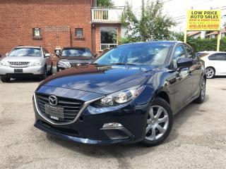 Used 2014 Mazda MAZDA3 GX-SKY*AllPwrOpti*Auto*Push2Start&MazdaWarranty* for sale in York, ON