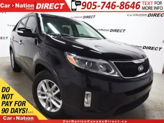 Used 2015 Kia Sorento LX| HEATED SEATS| WE WANT YOUR TRADE| for sale in Burlington, ON