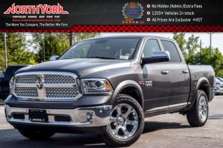 New 2017 Dodge Ram 1500 New Car Laramie |4x4|EcoDiesel|Crew|TrailerTow,Convi.Pkgs|Sunroof|Leather|20