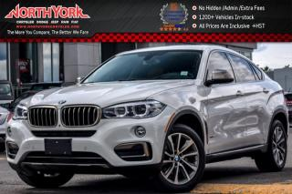 Used 2015 BMW X6 xDrive35i|Prem.Pkg|Nav|Sunroof|H/K Audio|Heat Leather Seats|20