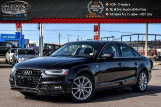 Used 2016 Audi A4 Progressiv plus|Quattro|Nav|Sunroof|Leather|Backup Camera|18