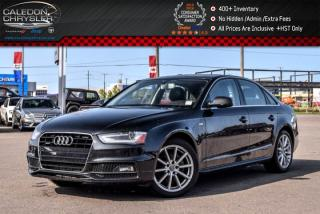 Used 2016 Audi A4 Progressiv plus|Quattro|Nav|Sunroof|Leather|Backup Cam|18