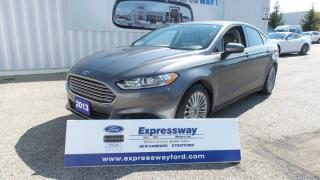 Used 2013 Ford Fusion S for sale in Stratford, ON