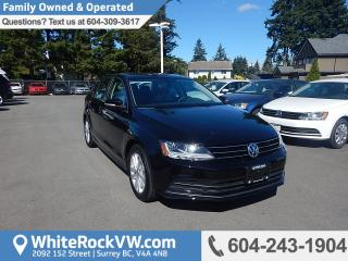 Used 2017 Volkswagen Jetta Wolfsburg Edition POWER MOONROOF, CRUISE CONTROL, KEYLESS ENTRY & A/C for sale in Surrey, BC