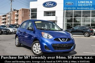 Used 2015 Nissan Micra Base for sale in Ottawa, ON