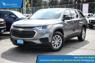 New 2018 Chevrolet Traverse LS Backup Camera and Air Conditioning for sale in Port Coquitlam, BC