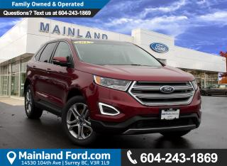 New 2017 Ford Edge Titanium for sale in Surrey, BC