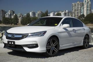 Used 2017 Honda Accord Sedan V6 Touring 6AT for sale in Vancouver, BC