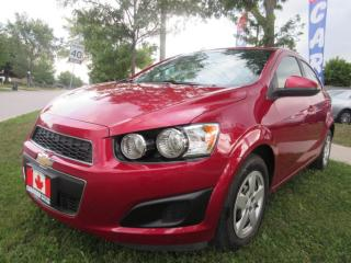 Used 2015 Chevrolet Sonic LT Auto-BACK-UP-CAMERA-ALLOYS-BLUE-TOOTH for sale in Scarborough, ON