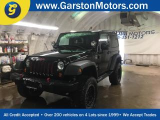 Used 2012 Jeep Wrangler SAHARA*4WD*HARD/SOFT TOP*ROUGH COUNTRY LIFT KIT*MICKEY THOMPSON BAJA TIRES*PRO COMP RIMS*HEATED FRONT SEATS* for sale in Cambridge, ON