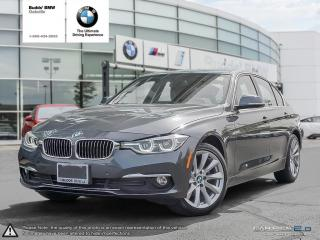 Used 2017 BMW 320i xDrive Sedan for sale in Oakville, ON