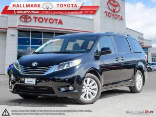 Used 2017 Toyota Sienna XLE AWD 7-Passenger V6 for sale in Mono, ON